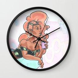Pamela Isley GCS cottoncandy 80s Wall Clock