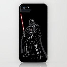 Font vader iPhone Case