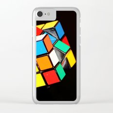 Cubic Cube Clear iPhone Case