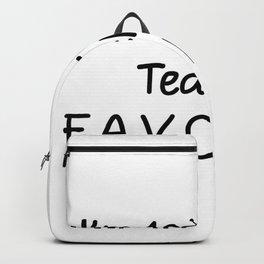 I'm 10th Grade Teacher Favorite 10th Grade Teacher Backpack