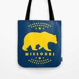 Missouri Black Bear Tote Bag