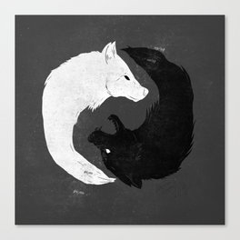 Feed the Wolves Canvas Print