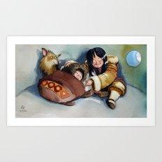 Sweet Home Art Print