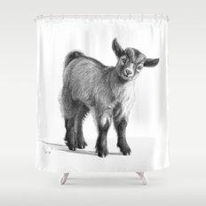Goat baby G097 Shower Curtain
