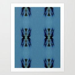 Mosaic Tribal Art Print