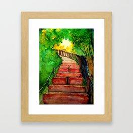 Kabbalah Sefirot Series: Ascension Framed Art Print