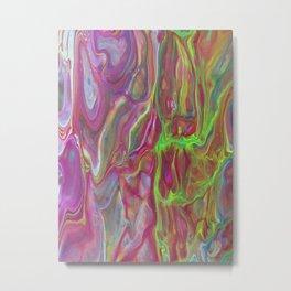 Magenta greens Metal Print
