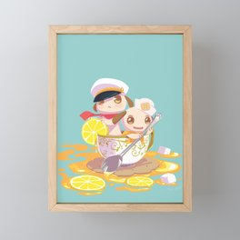 Merrily, Merrily Framed Mini Art Print