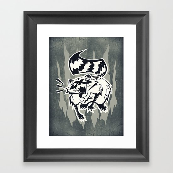 Rabid  Framed Art Print