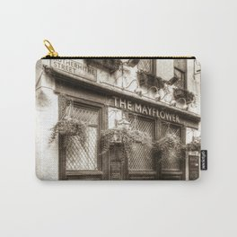 The Mayflower Pub London Vintage Carry-All Pouch