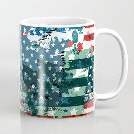 Like an American. USA grunge flag Coffee Mug