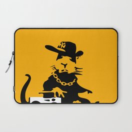 Banksy Gangsta Rat  Laptop Sleeve