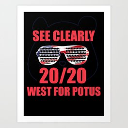 See Clearly 2020 Art Print