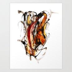 Runaway Heart Art Print