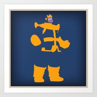 The Overmaster (Thanos) Art Print