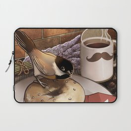 The Bagel Thief Laptop Sleeve