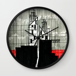 Imaginary architectures #16 Wall Clock