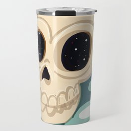 very scary skull Travel Mug