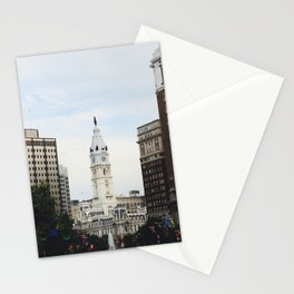 Philadelphia City Hall from the Parkway Stationery Cards