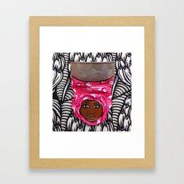 AfriCan Sister Love. Framed Art Print