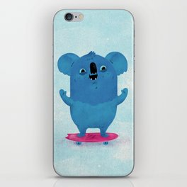 Kickflip Koala iPhone Skin