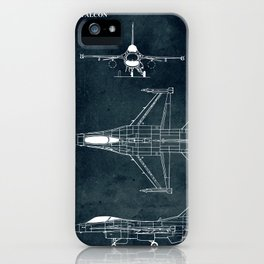 F-16 Fighting Falcon - 1974 iPhone Case