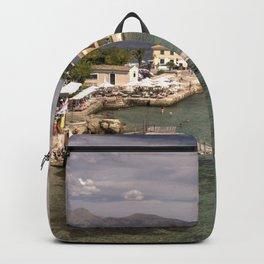 Corfu Seascape Backpack