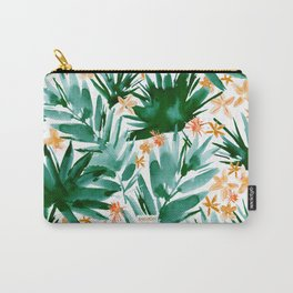 LEAF IT BE Tropical Palms Carry-All Pouch