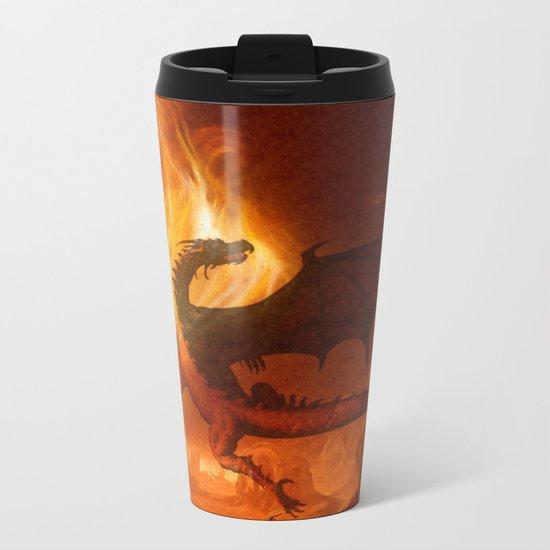 Dragon's world Metal Travel Mug