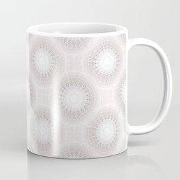 Pastel Gray Mandala Coffee Mug