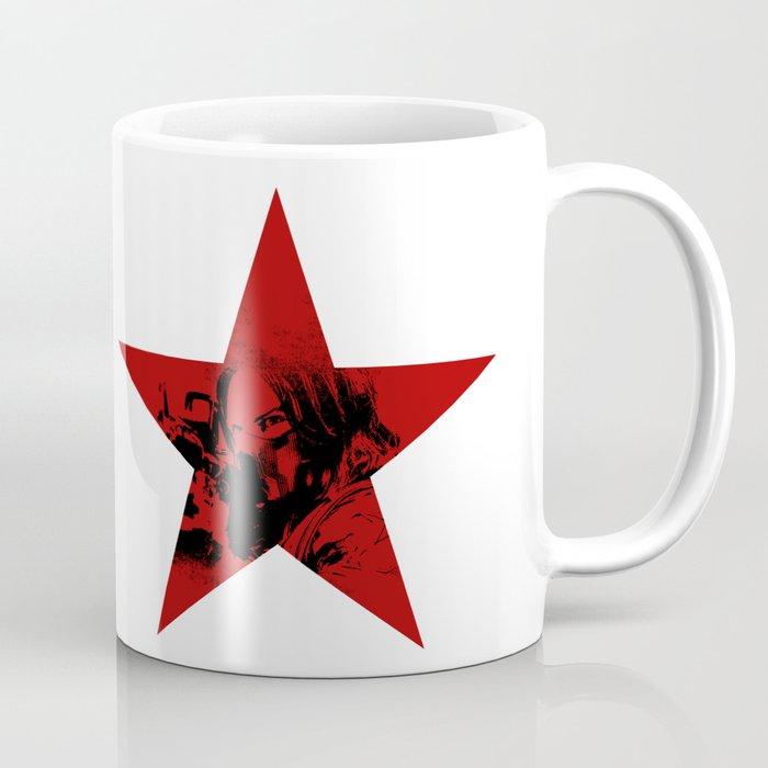 Winter Soldier Star Coffee Mug