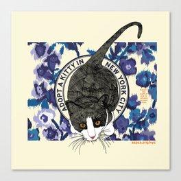 ASPCA® New York Cat Adoption Benefit Proposal Canvas Print