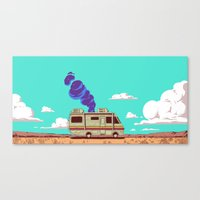 lab Canvas Prints featuring Lab by Mikhail Kalinin