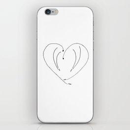 A sweet greeting iPhone Skin