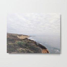 San Mateo Coast, California Metal Print