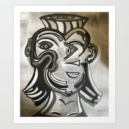 Hints of Picasso Art Print