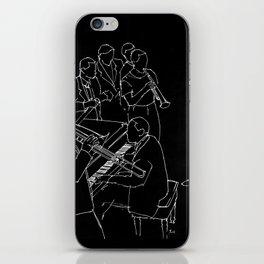 Duke Ellington jazz band iPhone Skin