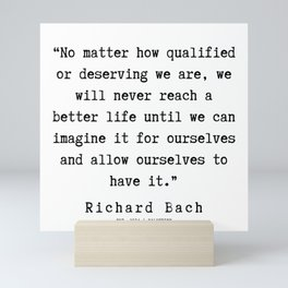 17   | Richard Bach Quotes | 190916 Mini Art Print