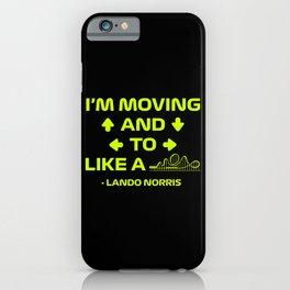 Neon Lando Radio  iPhone Case