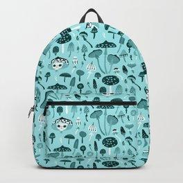 Mad Tea Party III - Mushrooms Backpack