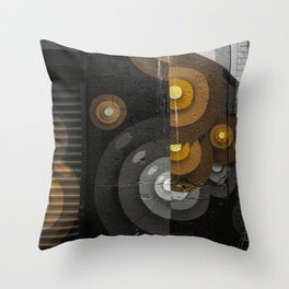 Bushwick's Street Arts Throw Pillow