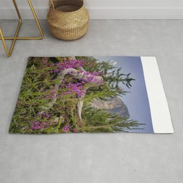 Fireweed on the Mountain Rug