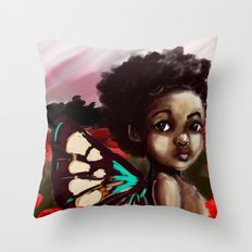 Aman Throw Pillow