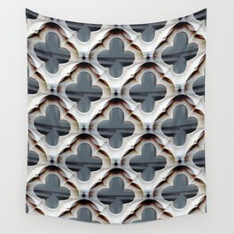 Gothic Trellis Pattern ( large motifs) Wall Tapestry