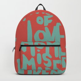 Motivation Quote - Illustration - Home - Dreams - Inspiration - life - happiness - love Backpack