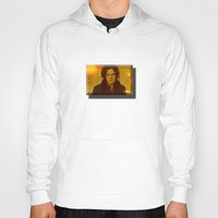 jack white Hoodies featuring Jack White by yahtz designs