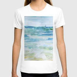 Miami Beach Watercolor #1 T-shirt