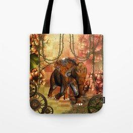 Steampunk, steampunk elephant Tote Bag