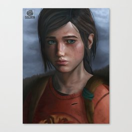 The Last of Us: Ellie Canvas Print