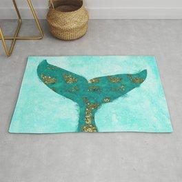 A Mermaid Tail I Rug